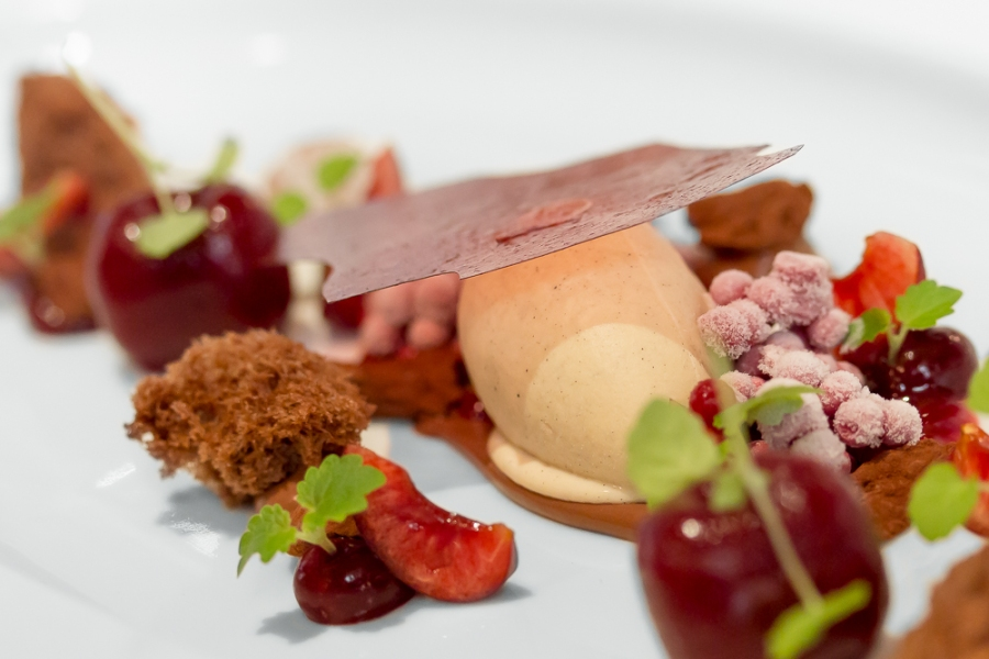 """Black Forest Cheery 2013"" Interprets the classics from our home for dessert"